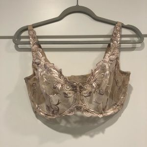 Soma Sensuous Lace Unlined Bra 34 DDD